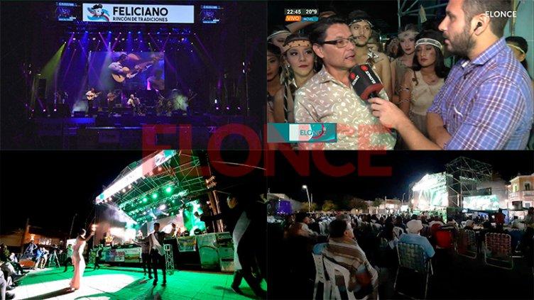 San José de Feliciano vivió con éxito la segunda noche de la Fiesta del Ternero
