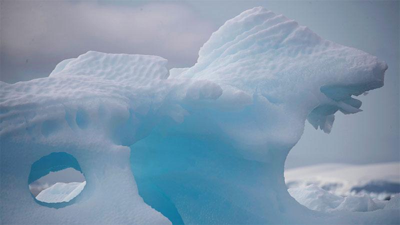 Imágenes satelitales de la NASA evidencian derretimiento en la Antártida