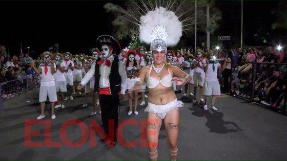 Paraná bailó al ritmo de su segunda noche de carnavales