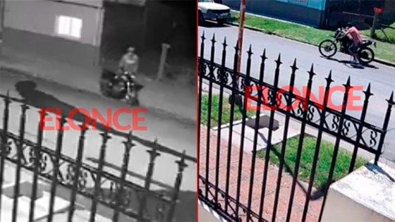 Video: Robaron dos motos en la misma cuadra este mes y grabaron ambos hechos