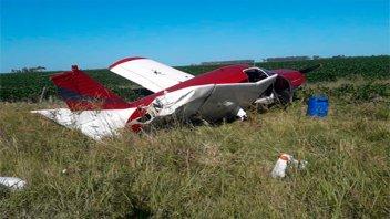 Encontraron una avioneta paraguaya y se presume que trasladaba droga