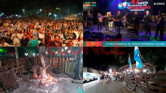 San José de Feliciano vivió con éxito la última noche de la Fiesta del Ternero