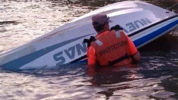 Una embarcación se hundió en el puerto de Concepción del Uruguay