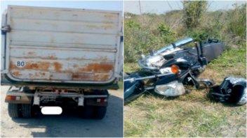Santa Elena: Falleció un joven que había chocado contra un camión