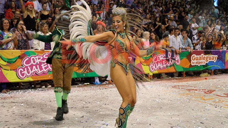 Se vive el Carnaval de Gualeguay, una fiesta que