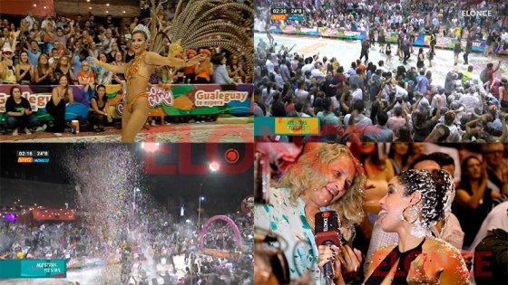 Así vibró el carnaval de la espuma en Gualeguay, el más divertido del país