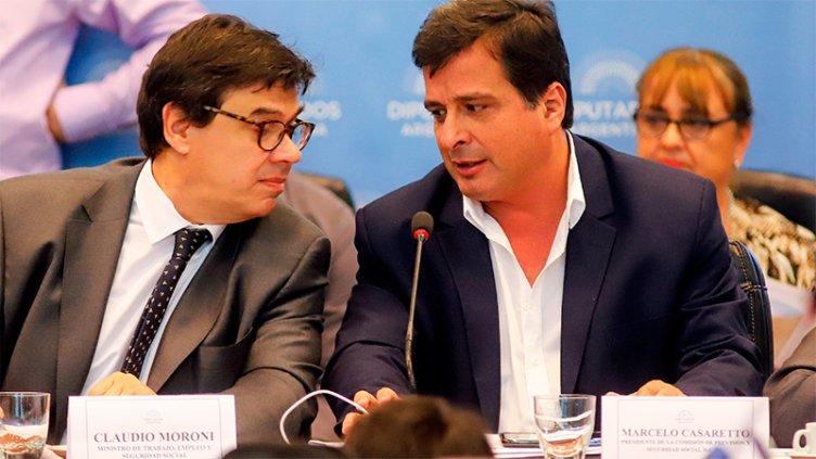 Diputados debaten las jubilaciones de privilegio tras la exposición de Moroni