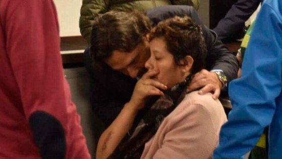 La mujer violada en Puerto Deseado llegó a Salta y despedirá a su hijo asesinado