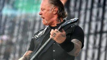 Metallica cancela más conciertos por la salud de su vocalista y guitarrista