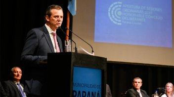 Bahl inaugura el lunes las sesiones ordinarias del Concejo Deliberante