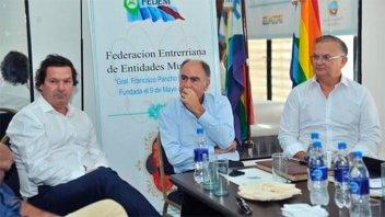 La Federación Entrerriana de Entidades Mutuales recibió al presidente del Inaes
