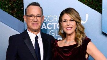 El actor Tom Hanks reveló que padece coronavirus