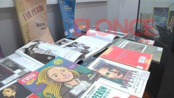 Exponen la obra de Eva Perón en una muestra itinerante en Paraná