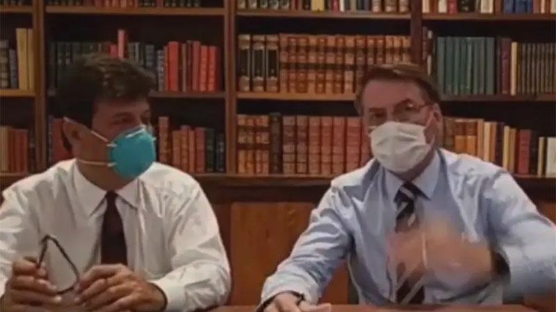 Bolsonaro se somete a segundo examen por coronavirus