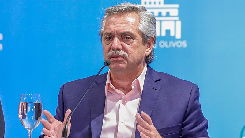 """Fernández: La situación por la pandemia """"me estremece, pero no me paraliza"""""""
