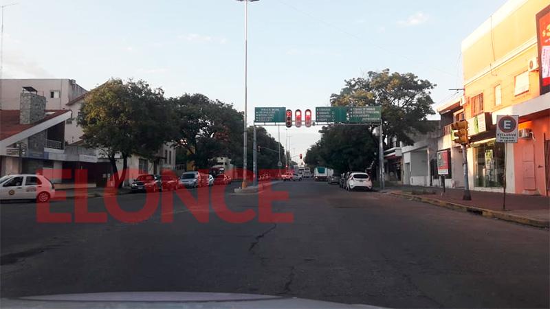 Avenida Ramírez a las 7.10