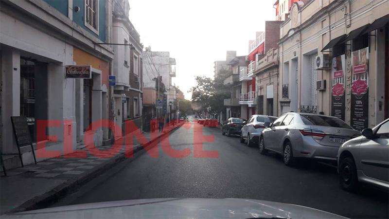 Calle Urquiza a las 7.00