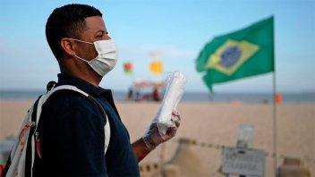 Brasil registró 852 nuevos casos de coronavirus en 24 horas