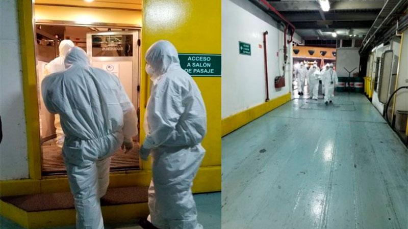 400 pasajeros en cuarentena por un hombre con síntomas de coronavirus — Buquebus