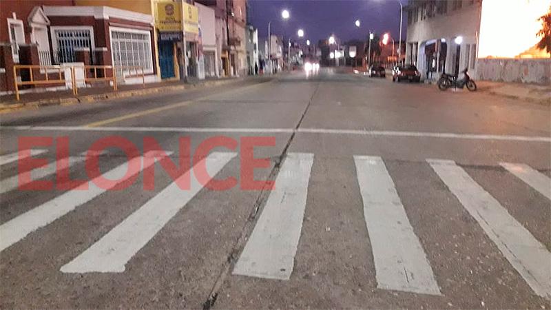 Las Cinco Esquinas de Paraná a las 6.45
