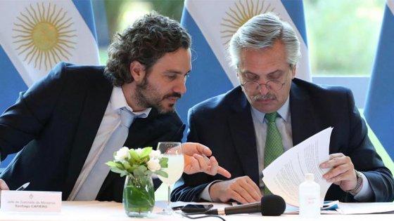 Cuarentena: Fernández analizó informes para