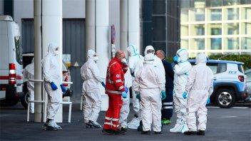 Italia: Más de 830 muertos y 2.100 contagios en el último reporte