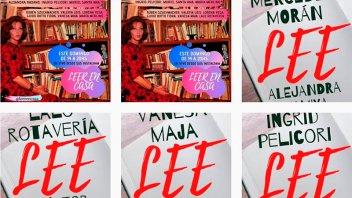 Intérpretes argentinos leerán desde sus casas para acompañar el aislamiento