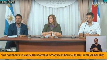Coronavirus: Modifican protocolo por uno de los casos positivos en Entre Ríos