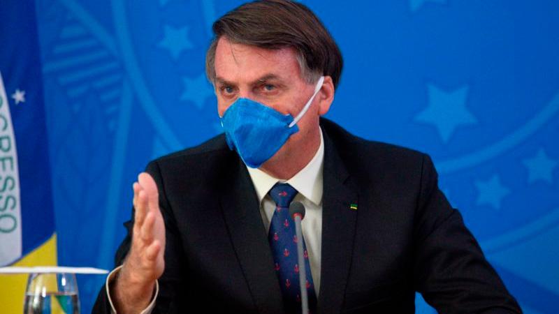 Twitter eliminó mensajes de Bolsonaro contra el aislamiento por coronavirus