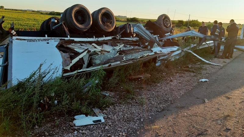 Fatal accidente en Ruta 16.