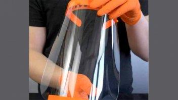 Escuela Técnica confeccionará máscaras plásticas para el personal de salud