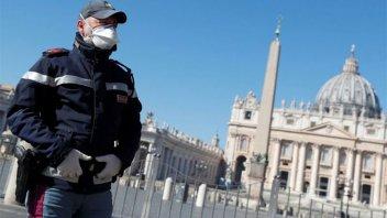 Italia: 601 muertos en las últimas 24 horas y ya suman 6.077 en total