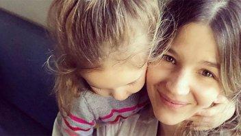 Marcela Kloosterboer mostró a su hija por primera vez en su cumpleaños