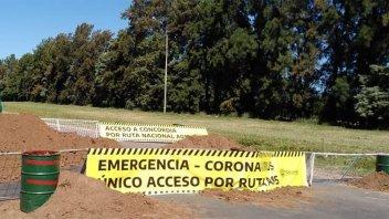 Cuarentena: Concordia cerró tres de sus cuatro accesos