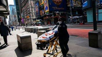 Coronavirus: Nueva York reportó 5.700 nuevos casos y superó los 20 mil contagios