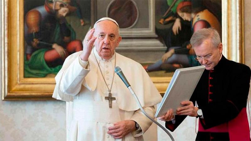 El papa preocupado por