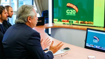 Fernández al G20: