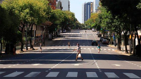Acatamiento del aislamiento: Bajó el 70% el uso del transporte en el interior