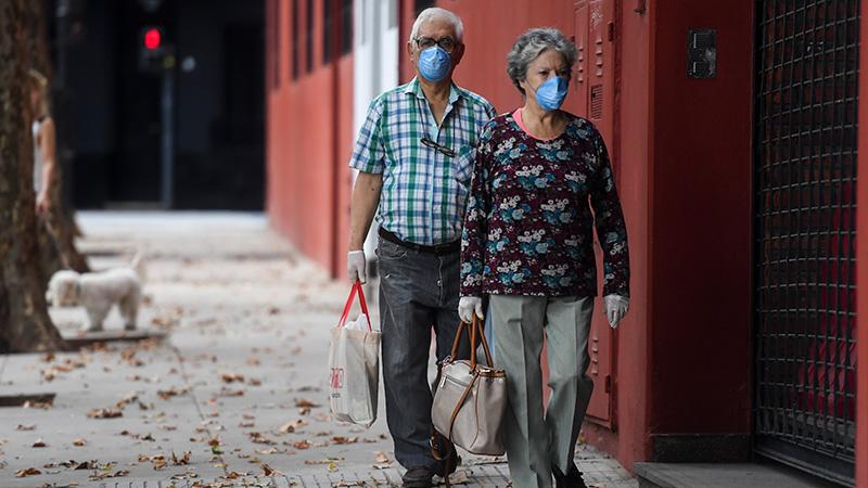 Suman 19 los muertos por coronavirus en Argentina y los infectados ya son 745