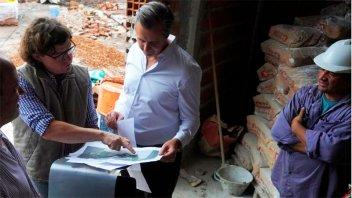 Avanza la obra del nuevo Centro de Atención Primaria de Salud Arturo Illia