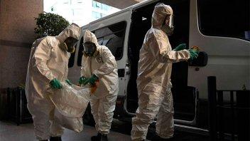 El coronavirus no da tregua en el mundo: Más de 720.000 infectados
