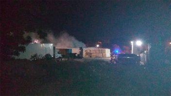 Detuvieron a un empleado por el incendio a un frigorífico de Victoria