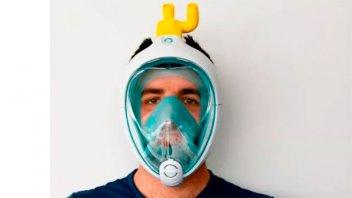 Fábrica de electrodomésticos se reconvierte y produce mascarillas de protección