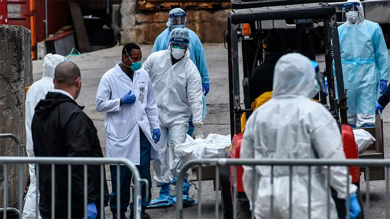 Más de 978 mil muertos por la pandemia en el mundo