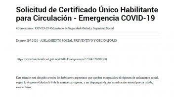 Excepciones y más plazo para tramitar el Certificado de Circulación