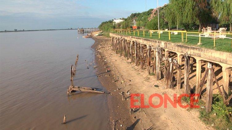 Advierten que el Río Paraná podría quedar por debajo de 1 metro en pocos días