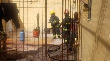 Bomberos de Gualeguaychú sofocaron un principio de incendio en la cárcel