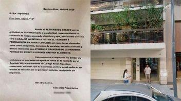 Coronavirus: Médica fue intimidada por sus vecinos del edificio