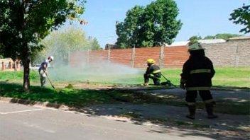 Crespo: Un escape de gas alarmó a la comunidad