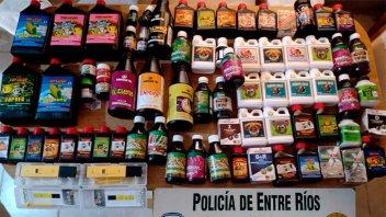 Hallaron los elementos robados a un comercio de Paraná tras persecución policial
